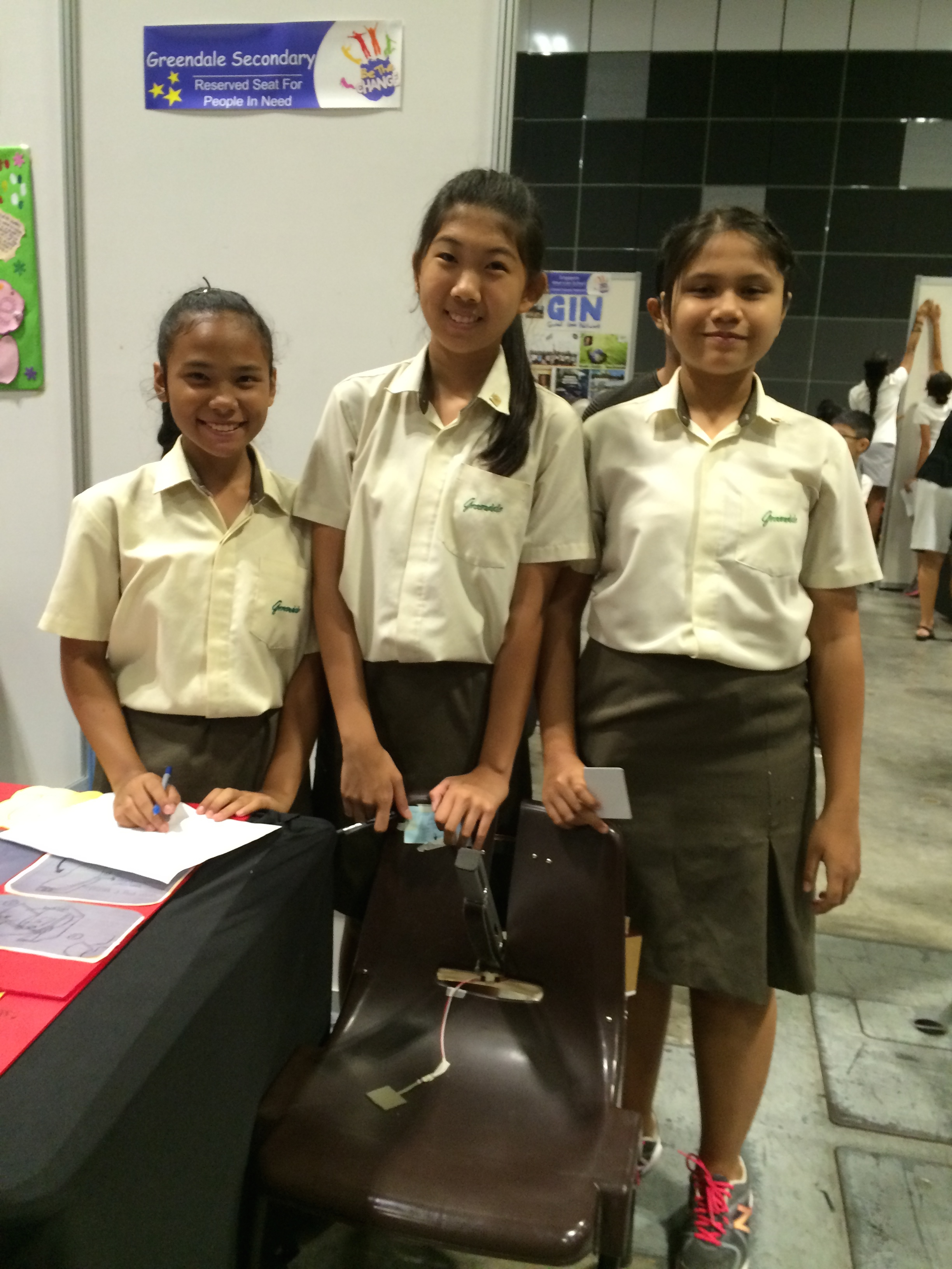 Students from Greendale Secondary School
