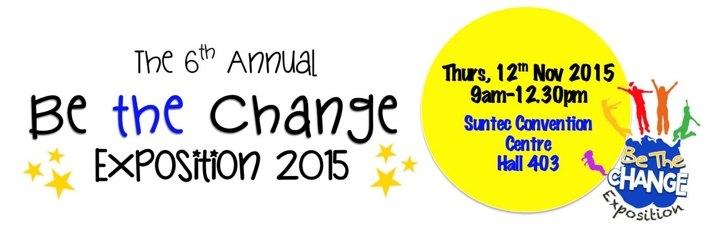 Be The Change Exposition 2015